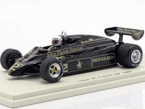 Geoff Lees Lotus 91 #12 Frankreich GP Formel 1 1982 1:43 Spark