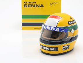 Ayrton Senna McLaren MP4/4 #12 World Champion formula 1 1988 helmet 1:2
