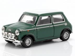 Mini Cooper with racing lamps green / white 1:43 Cararama