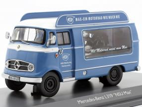 Mercedes-Benz L319 promotion car NSU Max blue / white 1:43 Schuco