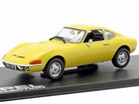 Opel GT year 1968 yellow 1:43 Ixo Altaya