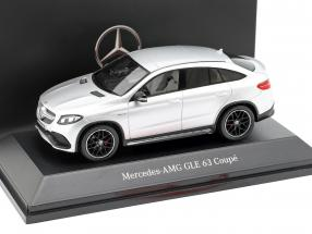 Mercedes-Benz AMG GLE 63 coupe (C292) iridium silver 1:43 Spark