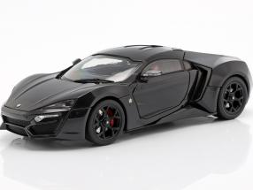 Lykan Hypersport year 2014-2016 black 1:18 Schuco