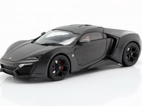 Lykan Hypersport year 2014-2016 mat gray 1:18 Schuco