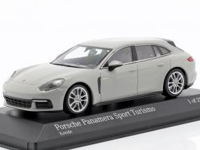 Porsche Panamera Sport Turismo 4E-Hybrid 2017 chalk grey 1:43 Minichamps