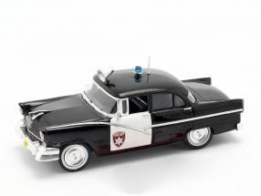 Ford Fairlane Oakland Police schwarz / weiß in Blister 1:43 Altaya