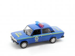 VAZ 2107 Polizei blau in Blister 1:43 Altaya