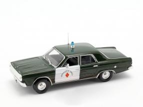 Dodge Dart Polizei dunkelgrün / weiß in Blister 1:43 Altaya
