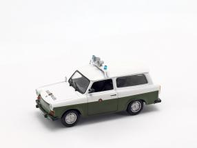 Trabant P601 Universal peoples police white / olive green 1:43 Altaya