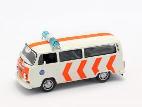 Volkswagen VW T2 Politie weiß / orange 1:43 Altaya