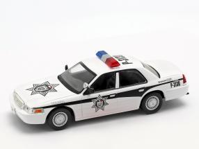 Ford Crown Victoria Policia Mexiko weiß 1:43 Altaya