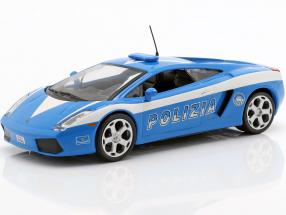 Lamborghini Gallardo Polizia blue / white 1:43 Altaya