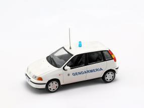 Fiat Punto Gendarmeria weiß 1:43 Altaya