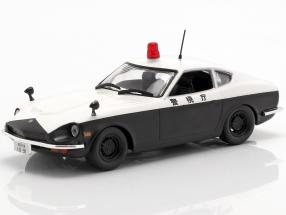 Datsun Fairlady 240 Z police white / black in Blister 1:43 Altaya