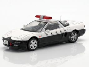 Honda NSX Polizei weiß / schwarz in Blister 1:43 Altaya