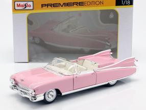 Cadillac Eldorado Biarritz Year 1959 pink 1:18 Maisto