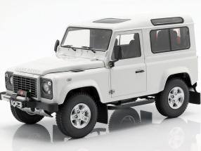 Land Rover Defender 90 white 1:18 Kyosho