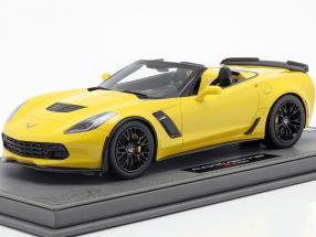 Chevrolet Corvette Z06 Convertible Baujahr 2015 gelb 1:18 BBR