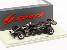 Nigel Mansell Lotus 91 #12 3rd Brazil GP formula 1 1982 1:43 Spark