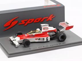 Denis Hulme McLaren M23 #6 Winner Argentinian GP formula 1 1974 1:43 Spark