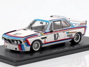 BMW 3.0 CSL #87 24h LeMans 1974 Finotto, Facetti, Mohr 1:43 Spark