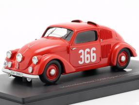 Mercedes-Benz 150H #366 Sport-Limousine Baujahr 1934 rot 1:43 AutoCult