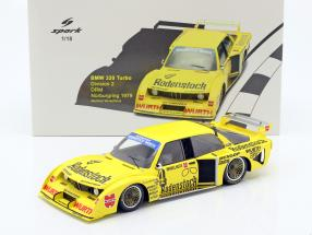 BMW 320 Turbo #4 2nd Division 2 DRM Nürburgring 1979 Winkelhock 1:18 Spark