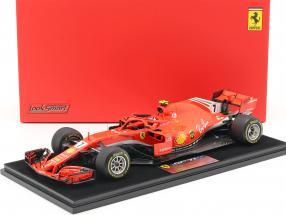 Kimi Räikkönen Ferrari SF71H #7 Winner United States GP formula 1 2018