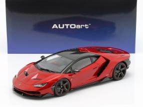 Lamborghini Centenario LP770-4 Baujahr 2017 rot metallic 1:18 AUTOart