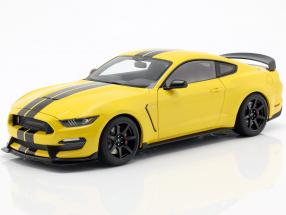 Ford Mustang Shelby GT350R Construction year 2017 yellow / black 1:18 AUTOart
