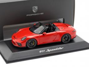 Porsche 911 (991 II) Speedster year 2019 Indian red 1:43 Spark
