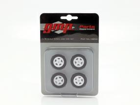 Ford Mustang Turbine Wheel and Tire Set (GMP 18822) 1:18 GMP