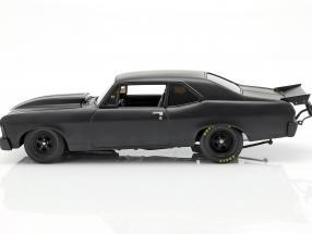 Chevrolet Nova Blackout 1320 Drag Kings 1969 mat grey
