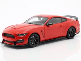 Ford Mustang Shelby GT350R Construction year 2017 race red 1:18 AUTOart