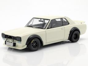 Nissan Skyline GT-R (KPGC-10) Racing year 1972 white 1:18 AUTOart