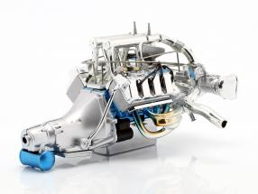 Ford Mustang Gasser Twin Turbo 429 Drag engine and transmission (GMP 18913) 1:18 GMP