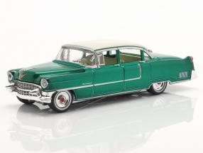 Set: Elvis figure 1:18   Cadillac Fleetwood Series 60 1955 grün