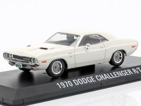 Dodge Challenger R/T year 1970 movie Vanishing Point (1971) White
