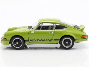 Porsche 911 Carrera RS year 1973 lime green / black