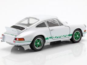 Porsche 911 Carrera RS year 1973 white / green