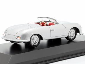 Porsche 356 No.1 year 1948 silver