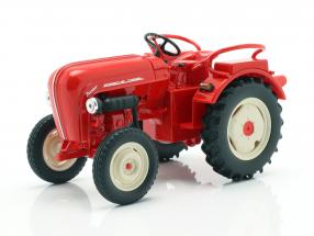 Porsche Junior tractor red 1:24 Welly