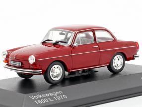 Volkswagen VW 1600 L year 1970 dark red 1:43 WhiteBox
