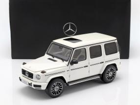 Mercedes-Benz G-Class W463 40 years 2019 diamond white bright 1:18 Minichamps