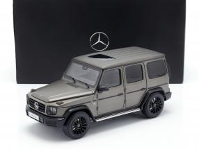 Mercedes-Benz G-Class W463 40 years 2019 monza grey magno 1:18 Minichamps