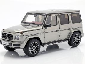 Mercedes-Benz G-Class W463 40 years 2019 mojave silver metallic 1:18 Minichamps