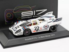 Porsche 917 K #22 Winner 24h LeMans 1971 Marko, van Lennep 1:43 Spark