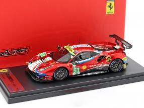 Ferrari 488 GTE #51 24h LeMans 2018 Calado, Guidi, Serra 1:43 LookSmart