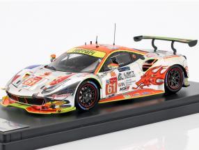 Ferrari 488 GTE #61 24h LeMans 2018 Griffin, Mok, Sawa 1:43 LookSmart
