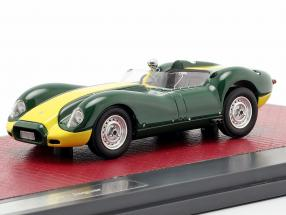 Jaguar Lister year 1958 green / yellow 1:43 Matrix